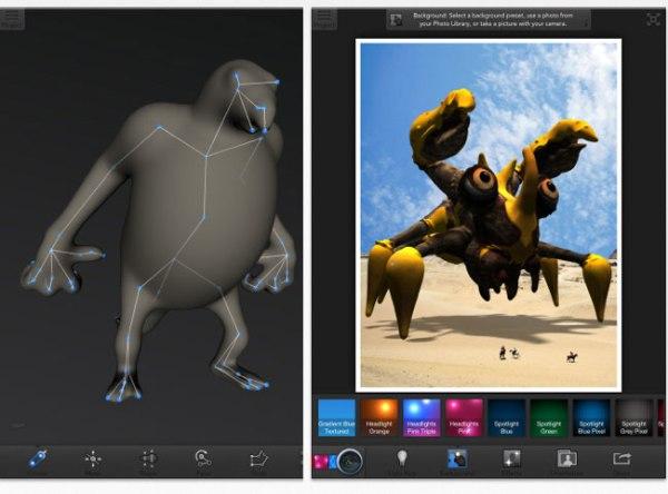 Autodesk 123D Creature App